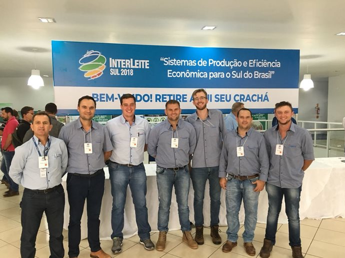 Coopermil participou do INTERLEITE 2018